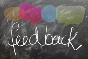 Virtual Writing Tutor feedback